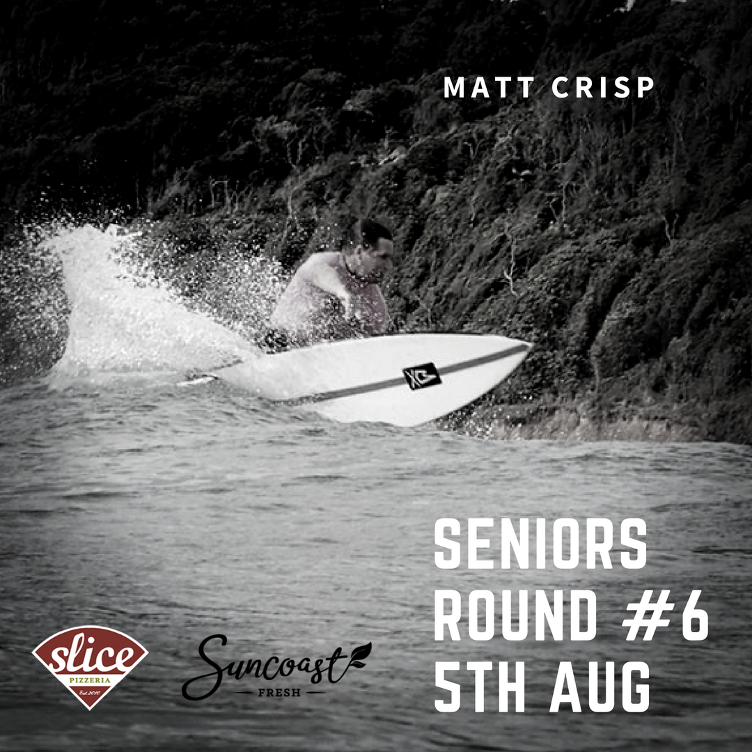 SENIORS ROUND 6  12TH AUG : TALLOWS 8 AM START