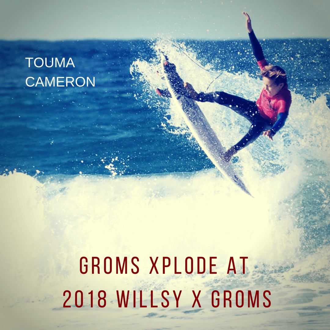 2018 WILLSY X GROM RESULTS