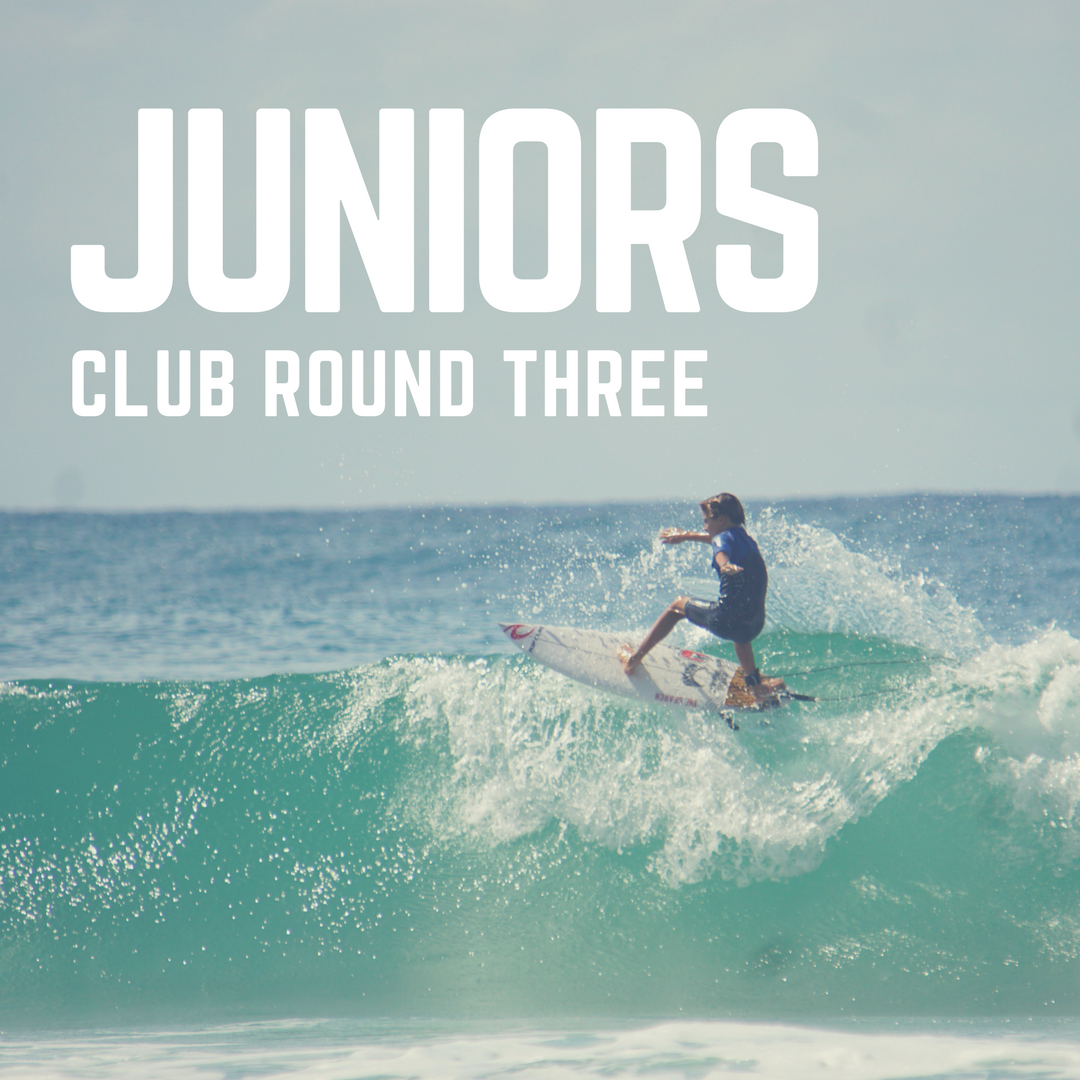 JUNIORS CLUB ROUND 3 IS ON AT BROKEN HEAD