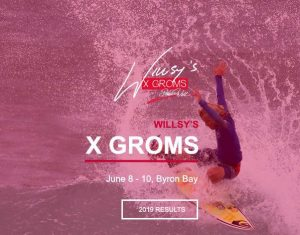 Willsy's X Groms Heats Draw